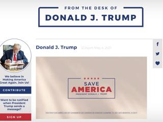 Соцсеть Дональда Трампа оказалась блогом с защитой от россиян