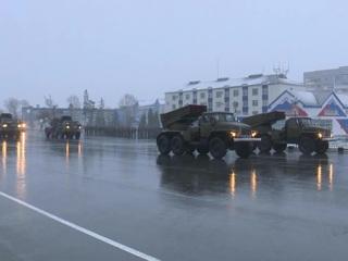 В регионах России проходят репетиции Парада Победы
