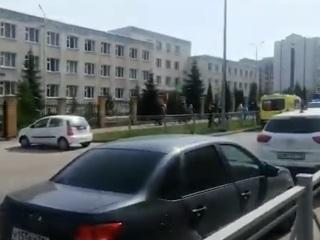 Собкор ВГТРК: в Казани введен режим контртеррористической операции