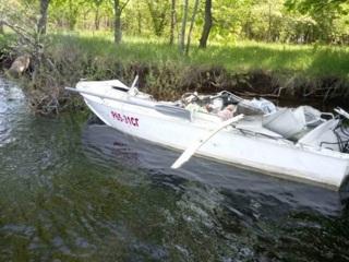В Саратовской области столкнулись катера, есть жертвы