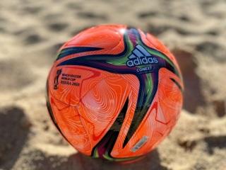 FIFA представила официальный мяч чемпионата мира по пляжному футболу в России