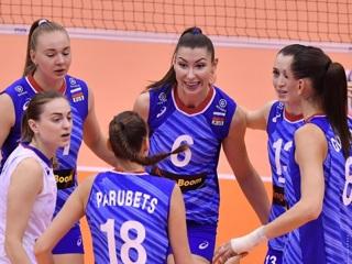 Женская сборная России по волейболу объявила состав на Олимпиаду