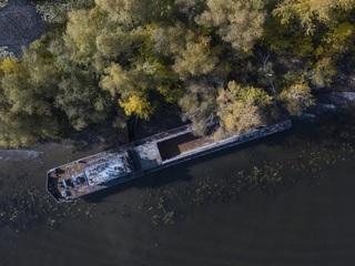На Волге нашли корабль-призрак