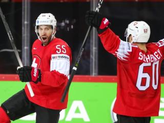 Хоккеисты Швейцарии разгромили Словакию на чемпионате мира