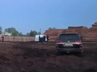 Подросток погиб на лесопилке под Красноярском