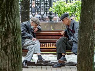 В Москве начнут штрафовать за сидение на лавочках в парке
