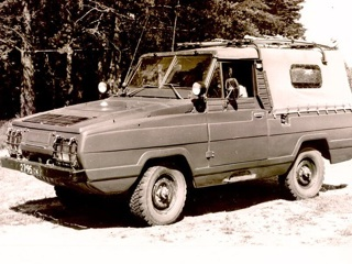 Наш советский Ягуар: 45 лет назад УАЗ начал разработку амфибии