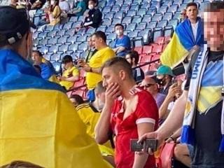 Арестован украинец, атаковавший россиянина на матче Евро-2020