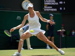 Самсонова победила бывшую чемпионку Уимблдона