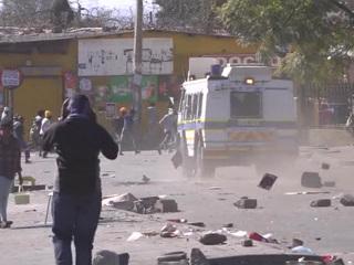 Президент ЮАР: страна столкнулась с самой сильной вспышкой насилия за всю историю