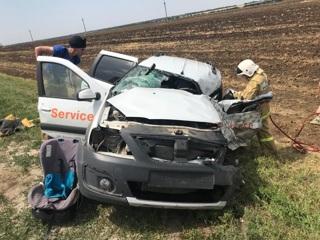 В Ростовской области в ДТП с большегрузом погиб мужчина
