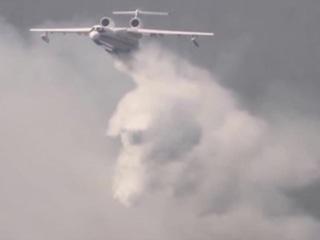 Красноярская амфибия полетела тушить лес в Якутии