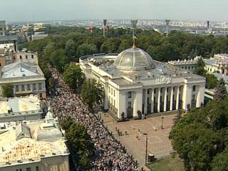 Крестный ход в Киеве напомнил о единстве, которое власти Украины не хотят замечать