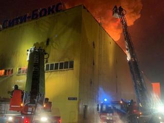 Крупный пожар на юго-востоке столицы потушен