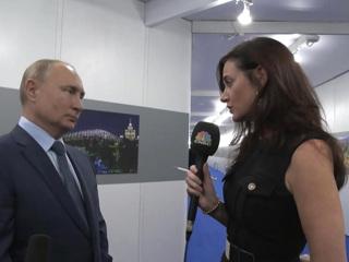 Доллар, энергетика, преемник: ответы Путина американской журналистке