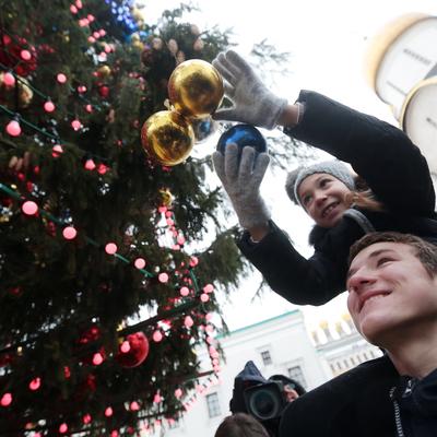 Главную новогоднюю елку страны украсят 21 декабря