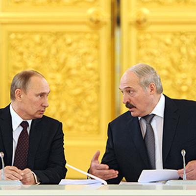 Путин встретится в Сочи с президентом Белоруссии Александром Лукашенко