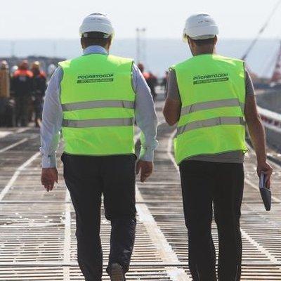Крымский мост поставлен на кадастровый учет, его можно увидеть на сервисах Яндекса и Google