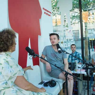 Дина Кирнарская в летней студии «Маяка»