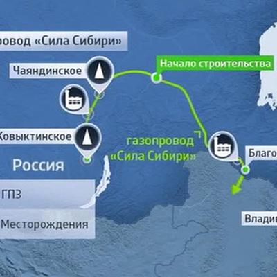 В июне CNPC начнет строить отвод к Силе Сибири