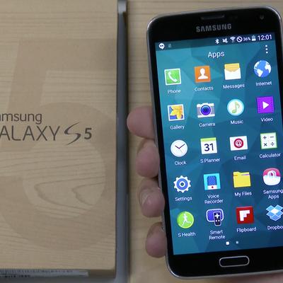 Galaxy S5 начали обновлять до Android 5.0