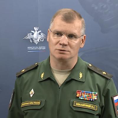 Конашенков рассказал о дронах, сбитых вблизи авиабазы Хмеймим