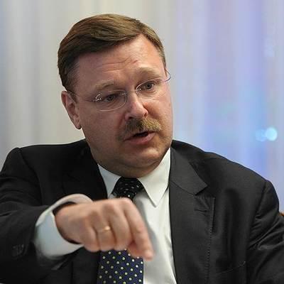 Косачев прокомментировал заявление Мингарелли о вкладе Порошенко в развитие Украины
