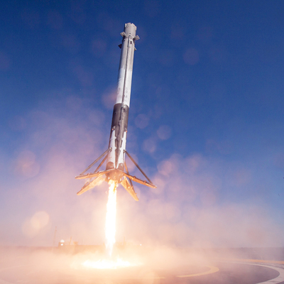 Нынешний запуск ракеты SpaceX отмен за 18 секунд до старта