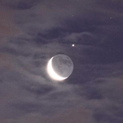 Жители РФ до конца месяца смогут наблюдать сближение Луны с Юпитером, Сатурном и Марсом