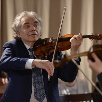 Захар Брон, скрипач, член жюри