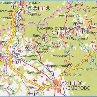 Движение междугородних автобусов по трассе Р-255 «Сибирь» в Кемеровской области ограничили