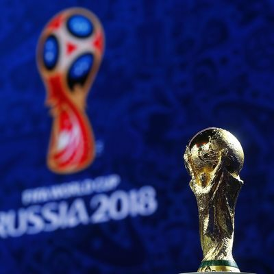Кубок чемпионата мира по футболу приехал в Казань