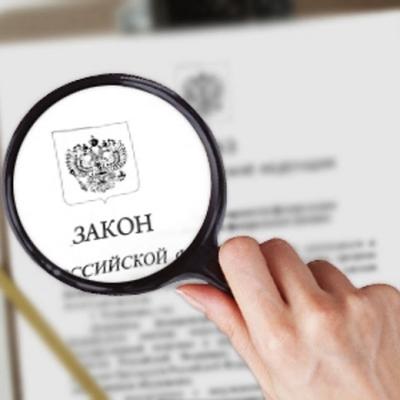 В российское законодательство могут ввести понятие