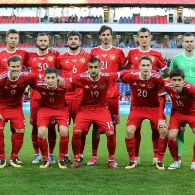 Сборная России по футболу тренируется перед матчем отборочного турнира чемпионата Европы-2020