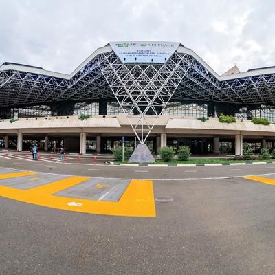 Показатели аэропорта Сочи в июле этого года превысили докризисный уровень