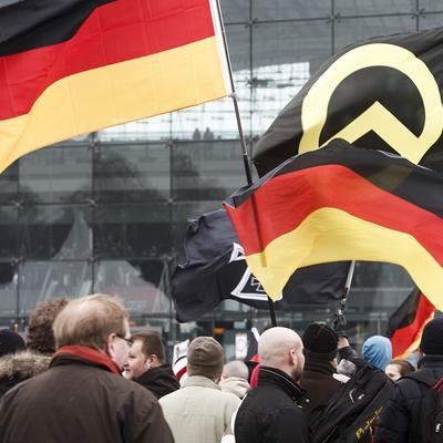 Около 200 тракторов заблокировали центр Берлина