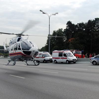 Территорию Москвы будут патрулировать вертолёты санитарной авиации