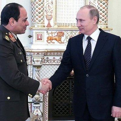 Отношения России с Египтом развиваются очень энергично