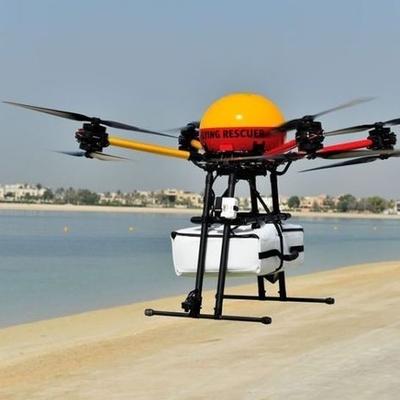 На общественных пляжах Дубая заступил на дежурство первый в мире беспилотный