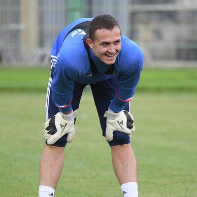 Андрей Лунев будет основным голкипером сборной России в матче против команды Германии