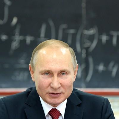 Владимир Путин приехал в гости к президенту СпбГУ