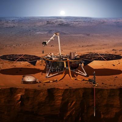 NASA опубликовала первое «марсианское» селфи космического аппарата InSight