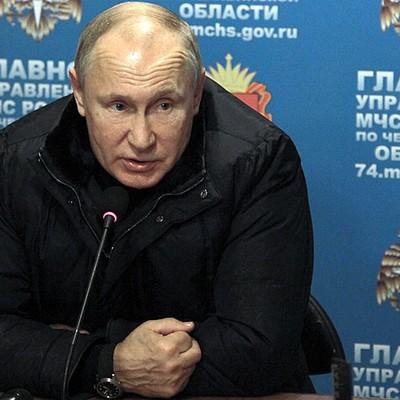 Путин поручил полностью расселить дом в Магнитогорске