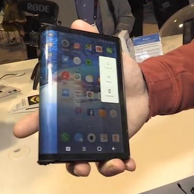 Вести.net: китайцы выпустили сгибаемый смартфон раньше Samsung