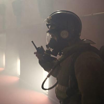 Состояние воздуха из за крупного пожара на складе в Петербурге в норме