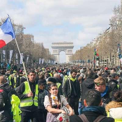 Во Франции активисты