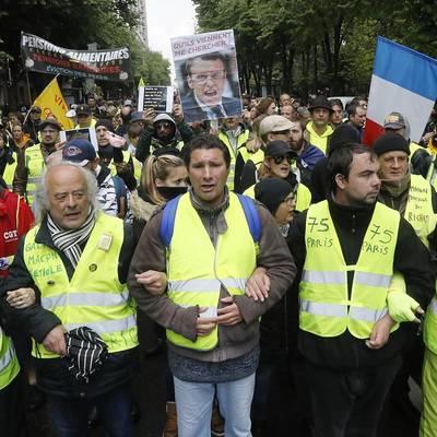 В акции протестов приняли участие более 3 тысяч