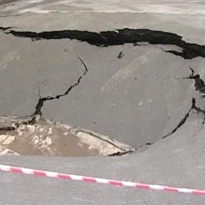 На Мытной улице в центре Москвы провалился грунт