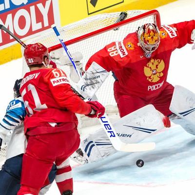 Сборная России проиграла Финляндии в матче 1/2 финала чемпионата мира по хоккею