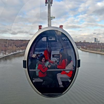 Проезд на Московской канатной дороге 10 декабря будет бесплатным